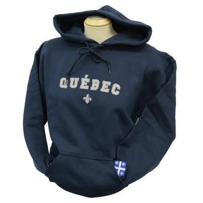 Chandail bleu marin « Québec »