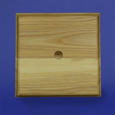 Base en bois pour hampe
