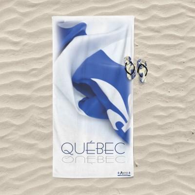 Serviette de plage Québec