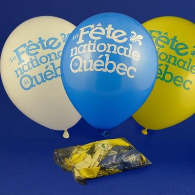 Ballons Fête nationale (paquet mixte)