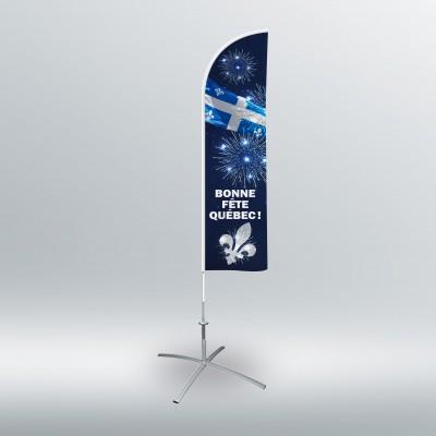 Drapeau de plage - Fête nationale (drapeau seulement)