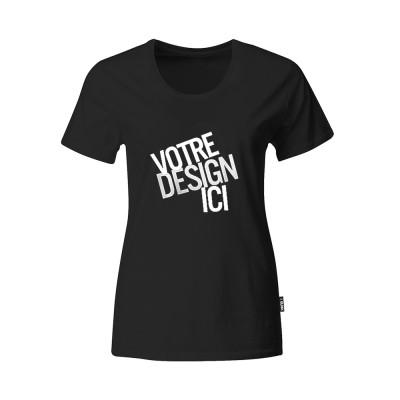 T-shirt Femme - Noir