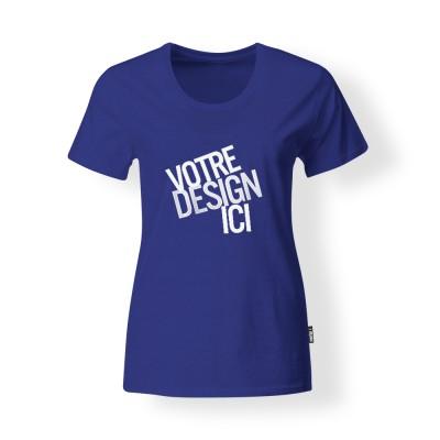 T-shirt Femme - Bleu royal