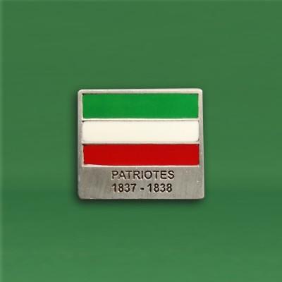Épinglette patriote 1837-1838