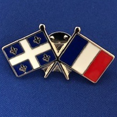 Épinglette Québec/France (12)