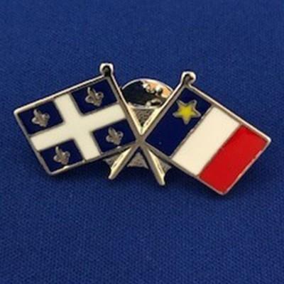 Épinglette Québec/Acadie