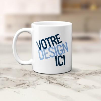 Tasse 11oz - Blanche