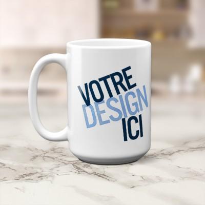 Tasse 15oz - Blanche