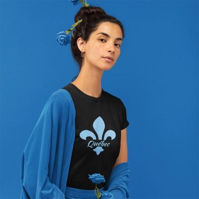 T-shirt noir Québec...
