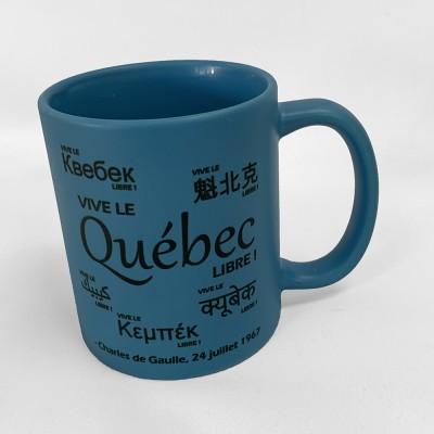 Tasse Vive le Québec libre