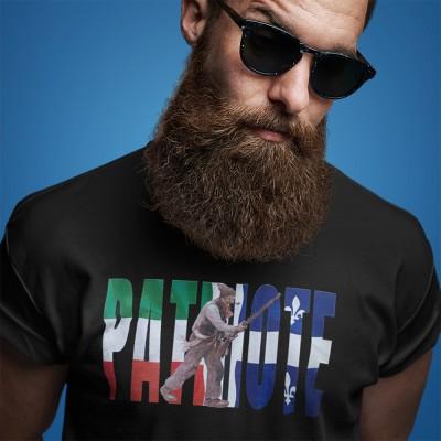 T-shirt patriote/drapeau -...