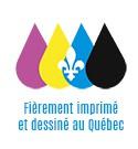 Dessiné et imprimé au Québec